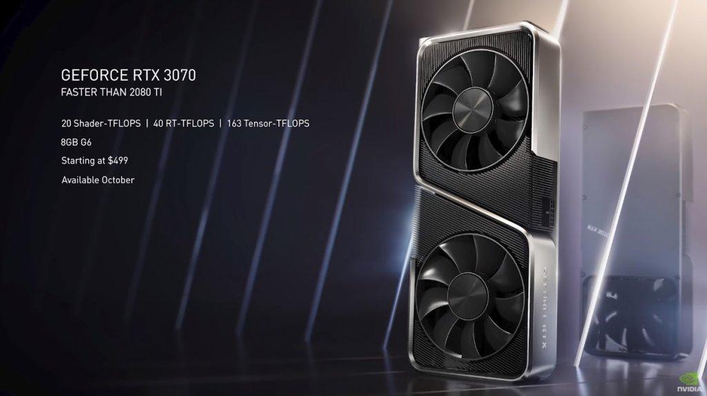 Tarjetas gráficas NVIDIA GeForce RTX 30 Series: Detalles del anuncio