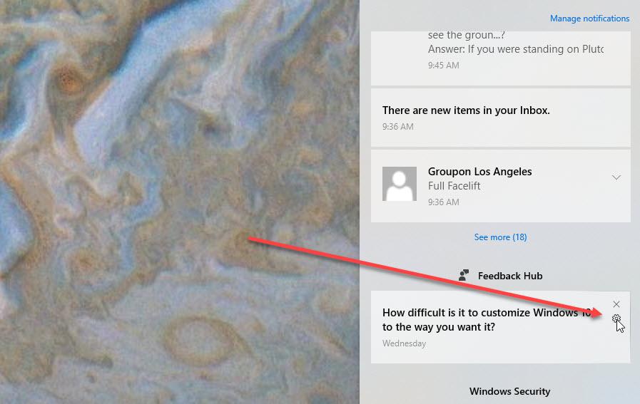 Cómo administrar las notificaciones en Windows 10